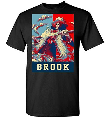 Camiseta Anime One Piece Brook Soul King 3 Personalizada