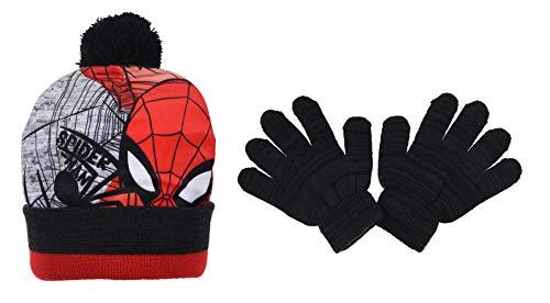 Spiderman Bambino Set Cappello Guanti