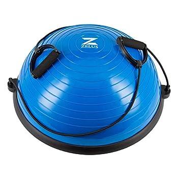 half ball exercise balance