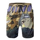 Inaayayi My-Nei-GHB-Or-Tot-Oro - Pantalones cortos de playa para hombre, pantalones cortos clásicos de baño de secado rápido, con múltiples bolsillos y forro de malla