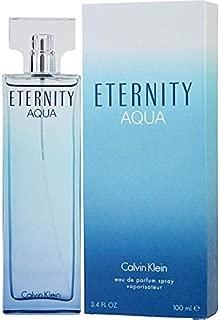 C k Eternity Aqua Women Edp Spray 3.4 OZ. / 100 ML.