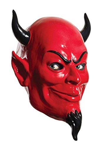 Rubie's Women's Scream Queens Devil Full Latex Mask, Red, One Size