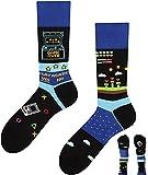 TODO Colours Lustige Socken mit Motiv - Mehrfarbige, Bunte, Verrückte für die Lebensfreude (43-46, Game Master, numeric_43)