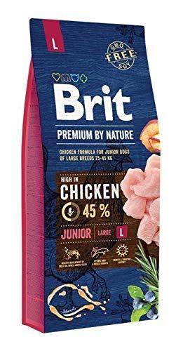 Brit Premium by Nature JUNIOR L 15kg Hundefutter Trockenfutter