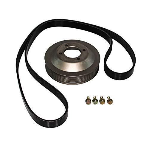 Rein Automotive PKW0001 Engine Water Pump Pulley Kit, 1 Pack
