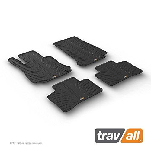 Travall Mats Gummifußmatten TRM1258 – Allwettermatten Nach Maß Fussmatten Set