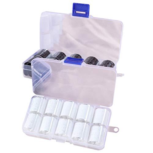 Pixnor 2 Boîte Autocollant de Transfert de Feuille D'ongle Bricolage Dentelle Nail Art Autocollants Décalcomanies à Ongles Transfert Ongle Autocollants Décoration