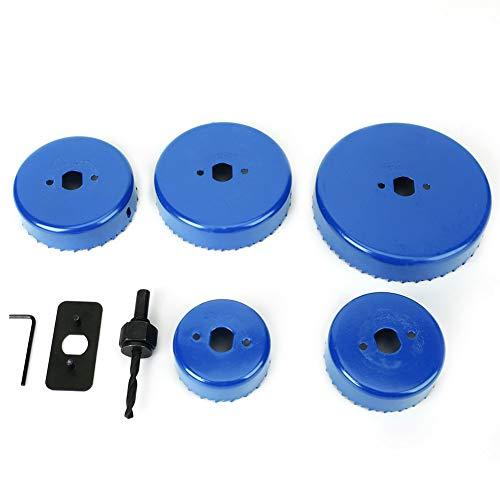 Abreagujero, broca estricta 50 # acero para tablero de yeso (azul)