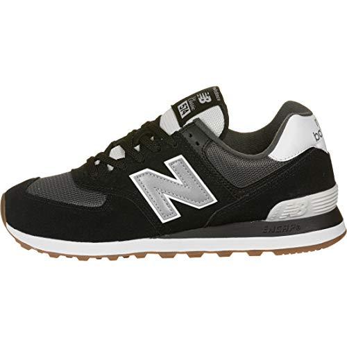 New Balance 574v2, Zapatillas Hombre, Negro (Black/Grey SPT), 42.5 EU