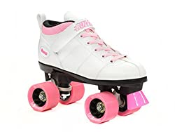 top rated Chicago Brett White Skating-Chicago Skating-Pink Lace Women 5 / Men 4 2021