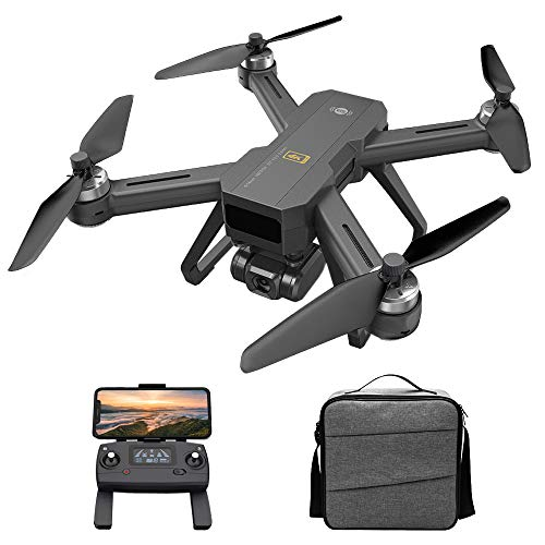 Funien Drone RC, Mjx B20 EIS GPS Drone RC con cámara 4K Motor sin escobillas 5G WiFi FPV Posicionamiento de Flujo óptico Estabilización de Imagen electrónica Punto de Referencia Vuelo 600M