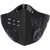 Máscara antipolvo de carbón activo, antipolvo, para motocicleta, bicicleta, para actividades al aire libre