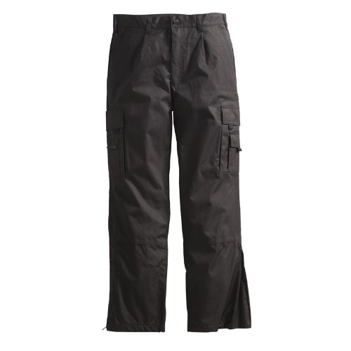 Pionier Workwear 2590 Pantalon cargo en téflon pour homme Noir Taille 50