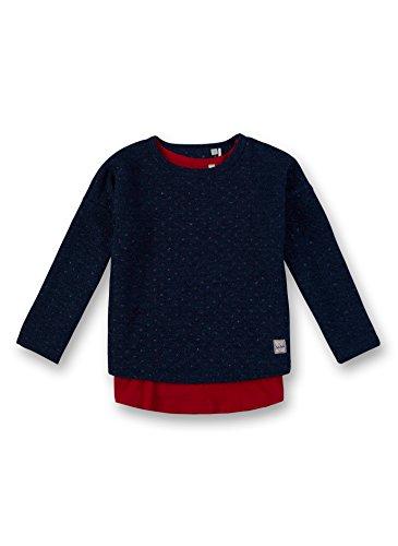 Sanetta Sanetta Mädchen Sweat Sweatshirt, Blau (Swallow Blue 50192), 104
