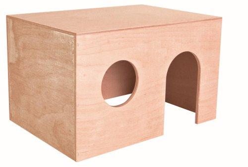 Trixie 60862 Holzhaus für Meerschweinchen, 27 × 17 × 19 cm