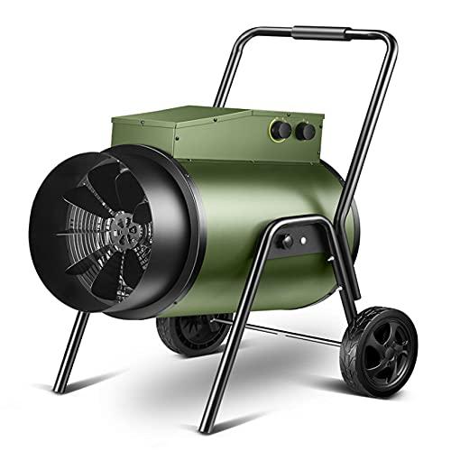 YQJY Calentador Eléctrico Industrial Calentador De Espacio Inteligente De Temperatura Constante Calentador De Protección contra Sobrecalentamiento 15kw / 35kw Área Aplicable 120㎡-180㎡ Verde Adecuado