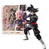 Anime Dragon Ball Demoniacal Fit Goku Black Rose Zamasu PVC Figura De Acción 14Cm, Colecciona Figura...