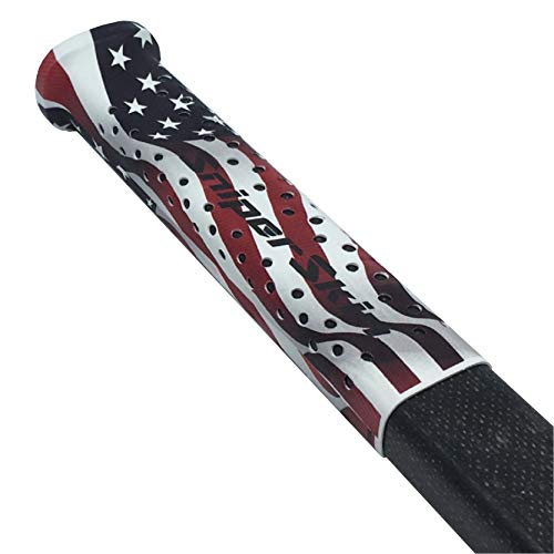 SNIPER SKIN ICT Ice Hockey Grip | Better Alternative to Grip Tape - Universal Sizing for Adults, Youth & Kids - USA