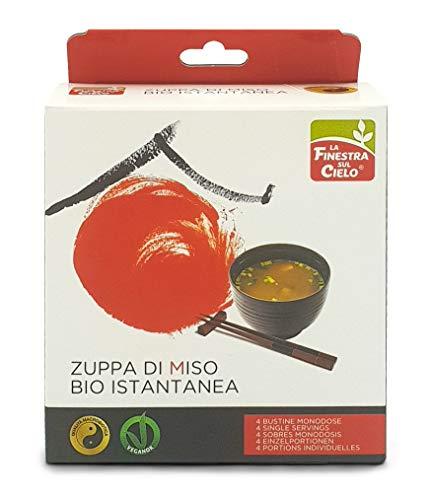 LA FINESTRA SUL CIELO Zuppa di Miso Istantanea, 4 bustine - 60 g