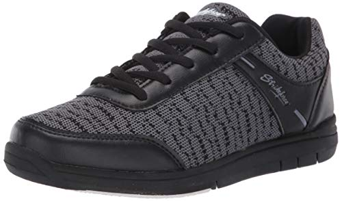 KR Strikeforce Herren Flyer Mesh Bowlingschuhe Black/Steel Größe 42
