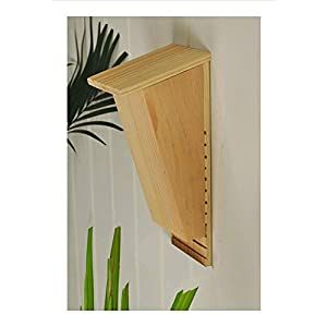 forestfox Bat Roosting Nesting Box Eco Friendly Wildlife Wooden Roost Nest Shelter