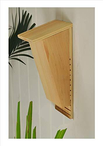 forestfox Bat Roosting Nesting Box Eco Friendly Wildlife Wooden Roost Nest Shelter