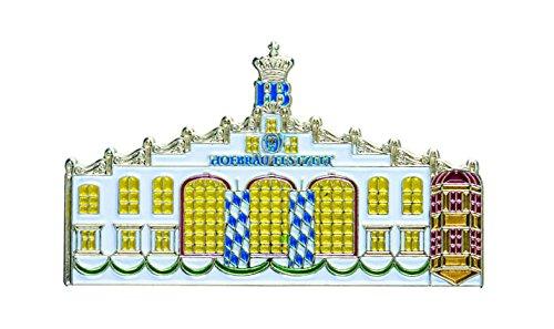 Pin / Brosche HOFBRÄU MÜNCHEN OKTOBERFEST FESTZELT (4,5 x 2,5 cm) SAMMELSTÜCK