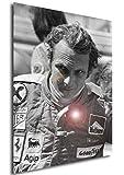 Instabuy Poster - Great Pilots - Niki Lauda A Manifesto