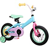 JOYSTAR 12 Inch Kids Bike for 2 3 4 Years Girls, Toddler Bike with Training Wheels for 2-4 Years Old...