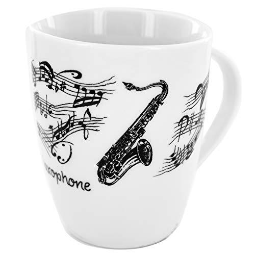 Tasse Saxofon, Geschenk für Musiker