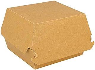 packer PRO, Cartón, Tamaño, Caja Burguer 14x12,5x8cm