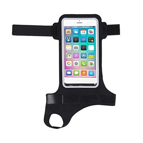 Modische Daumen arm Band rennen reiten arm Band case wasserdichte Outdoor Handgelenk Tasche für iPhone case Sport Handy Halter (schwarz) DEjasnyfall