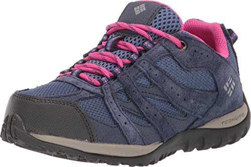Columbia Redmond, Zapatillas Bajos Impermeables Unisex Adulto, Azul, Rosa (Bluebell, Pink Ice), 36 EU