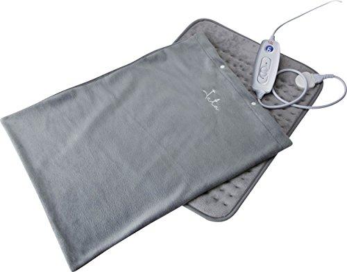 Jata CT20 Manta Eléctrica Mando Regulador con 6 Niveles Calor Inmediato Flexible...