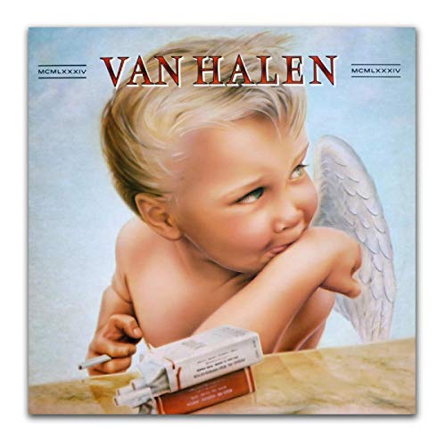 Van Halen 1984 Rock Band Album Cover Art Posters and Prints Pictures Canvas Painting Living Room Decor60x60cm unframed 1 pcs