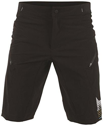 Dainese Damen Shorts Flow Tech, Kaleidoscope/Asphalt, M, 3769462_T34