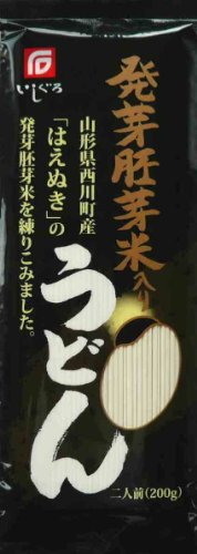 石黒製麺 発芽胚芽米入 うどん 200g