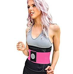 weight loss belt  A girdle that speeds up the metabolism and gym injuries