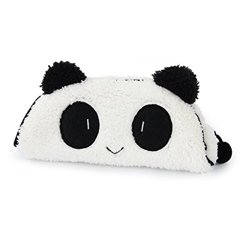 bouti1583 Super Cute Panda Anime Pencil Case Pen Pocket Bag Soft Gift for Girls Women Students