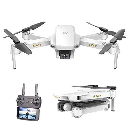 Goolsky CSJ S161 Drone Mini PRO Droni con 4K Fotocamera Altitudine Hold Seguimi gesti Foto Traccia Video Volo RC Quadcopter Borsa per la conservazione 1/2/3 Batterie