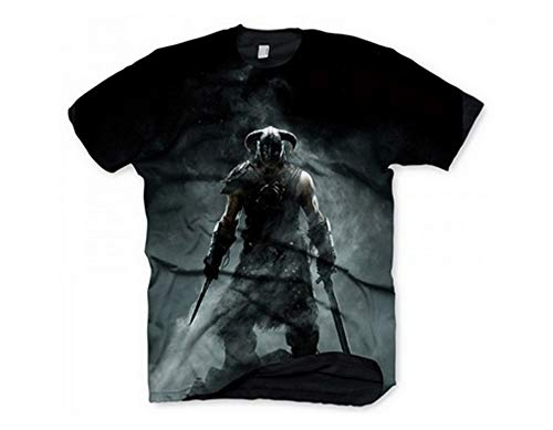 Skyrim T-Shirt 'Dragonborn' Size S