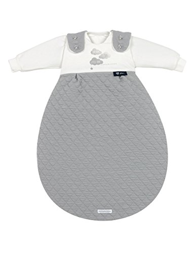 Alvi Baby-Mäxchen 3tlg. bellybutton Classic Line Dream grey, Größe:80/86