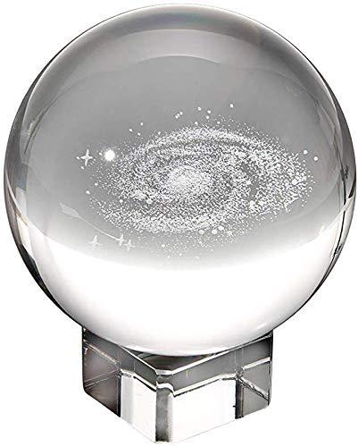 LLDKA Esfera Globo de Cristal Bola de Cristal Claro como el ...