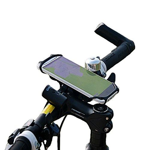 BTR Handy-Halterung für den Fahrrad-Lenker - Befestigung Für Alle Smartphones & Fahrräder