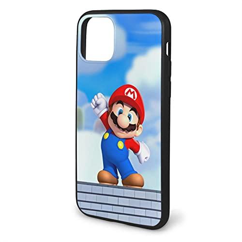 Carcasa blanda para iPhone 11-6.1, diseño de Mario Blue Sky