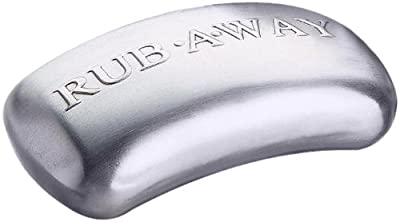 Amco 8402 Rub-a-Way Bar Stainless Steel Odor Absorber by Amco