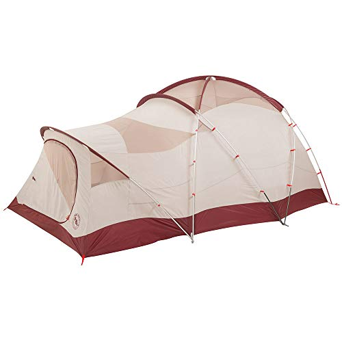 Big Agnes Flying Diamond 6 Tent Wine/Tan Red One Size