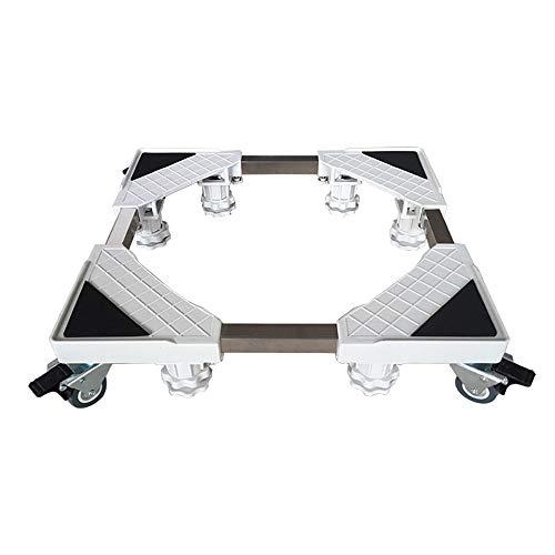 YXF,Meubilair handling base Meubilair mover wasmachine koelkast basis plank speciale statief waterdichte riem universeel wiel roestvrij staal mobiele modellen verstelbare universele type 2 kleuren WoW