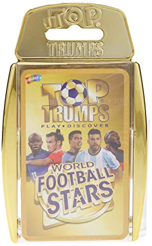 Top Trumps 32155 WFS Gold Case World Football Stars