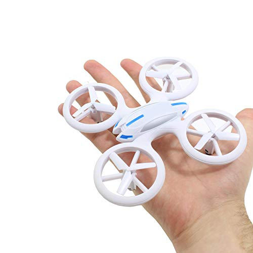 Smart Planet® hochwertige Kleine Mini Drohne / Drone mit LED Beleuchtung (17,6 cm) / Quadrocopter sehr Stabiler Flug 2,4 GHz Komplett Set - Looping